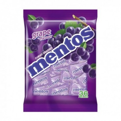 MENTOS Pillow Pack (Grape) 36'S