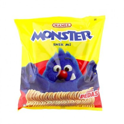 MAMEE MONSTER Noodles Snacks (Hot & Spicy) 25G x 8'S