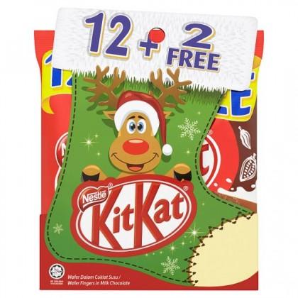 KIT KAT 2F Wafer Share Bag (Milk Choc) 17G x 12'S