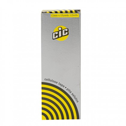 CIC Cellulose Tape 12MM x 15Y