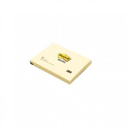 """3M POST-IT Sticky Notes Yellow 3.0"""" x 4.0"""" x 100'S"""