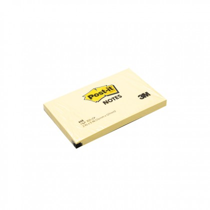 """3M POST-IT Sticky Notes Yellow 3.0"""" x 5.0"""" x 100'S"""