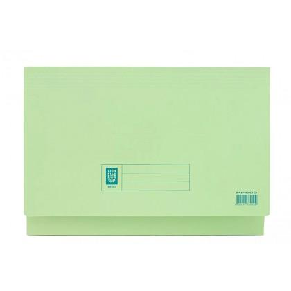 LION FILE Pocket File Green