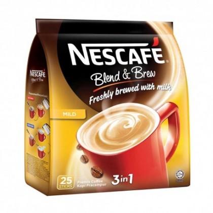 NESCAFE 3-In-1 Blend & Brew (Mild) 19G x 25'S