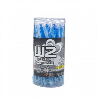 G'SOFT 0.5mm Ball Pen W2 Blue
