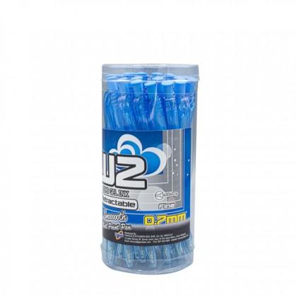 G'SOFT 0.7mm Ball Pen W2 Blue